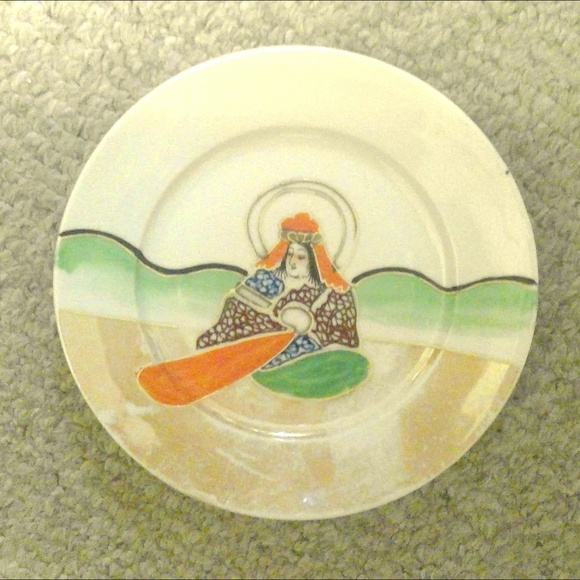 Mepoco Ware Other - Rare Mepoco Ware Handpainted Plate JAPAN